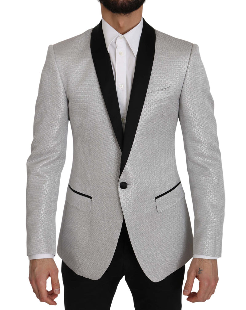 Silver Pattern MARTINI Jacket Coat Blazer