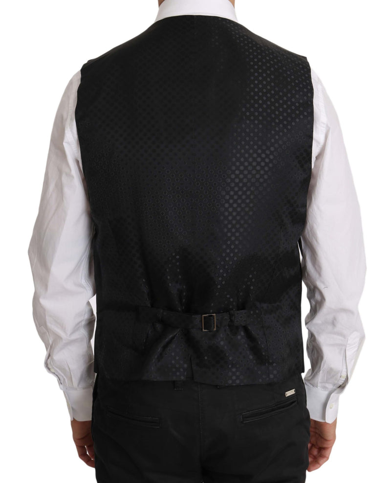 Black Bee Embellish 2 Piece Vest Blazer