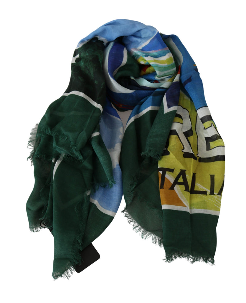 Multicolor Modal Sorrento Wrap Shawl Scarf