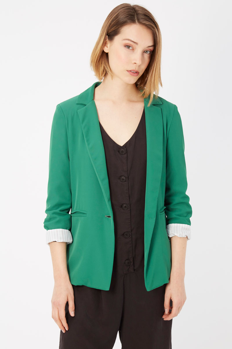 Verde Green Suits & Blazer