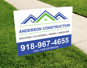 Office/Business Yard Signs - Louisiana Sign Guy | Signs, Cards, Billboards, and Brochures