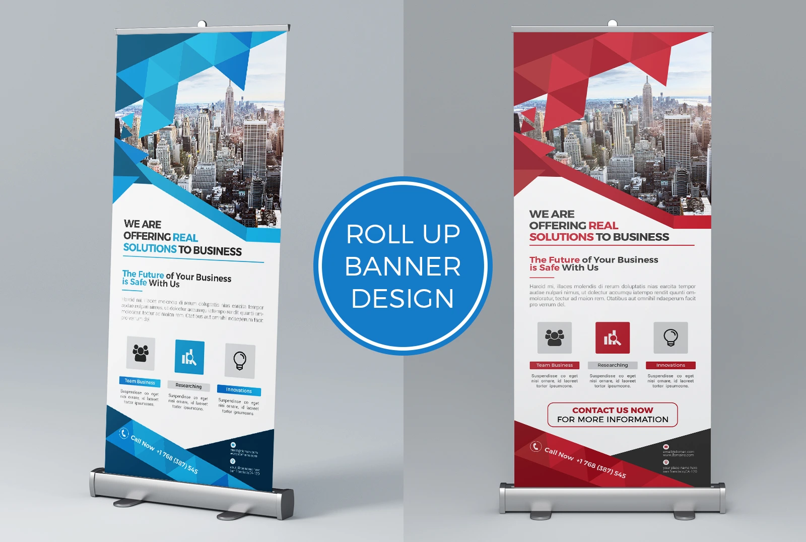 Office Retractable Banner Stands - Louisiana Sign Guy | Signs, Cards, Billboards, and Brochures