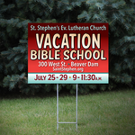 Church Yard Signs - Louisiana Sign Guy | Signs, Cards, Billboards, and Brochures