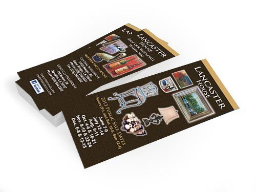 Trade Show Rack/Push Cards - Louisiana Sign Guy | Signs, Cards, Billboards, and Brochures