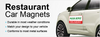 Restaurant Car Magnetic Signs - Louisiana Sign Guy | Signs, Cards, Billboards, and Brochures
