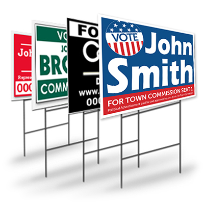 Political/Campaign Yard Signs - Louisiana Sign Guy | Signs, Cards, Billboards, and Brochures