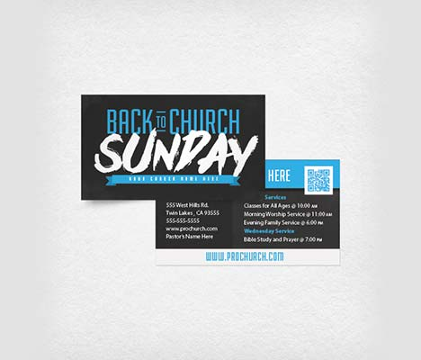 Church Invite Cards - Louisiana Sign Guy | Signs, Cards, Billboards, and Brochures