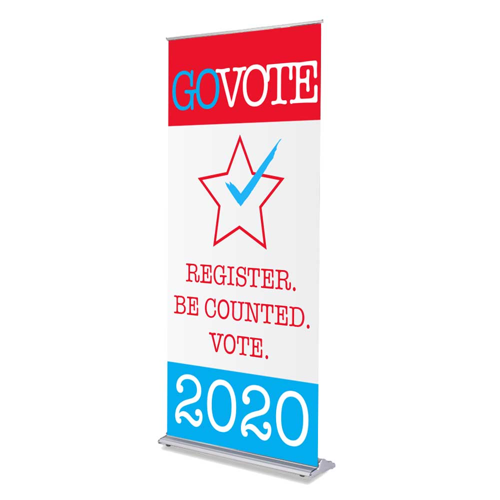 Political/Campaign Retractable Banners Stands - Louisiana Sign Guy | Signs, Cards, Billboards, and Brochures