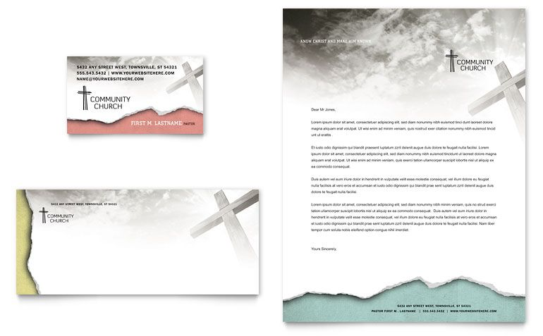 Church Letterheads - Louisiana Sign Guy | Signs, Cards, Billboards, and Brochures