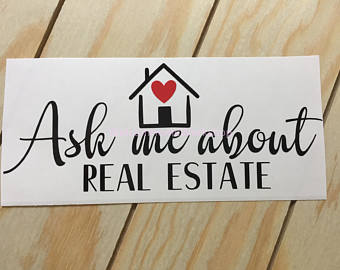 Real Estate Decals - Louisiana Sign Guy | Signs, Cards, Billboards, and Brochures
