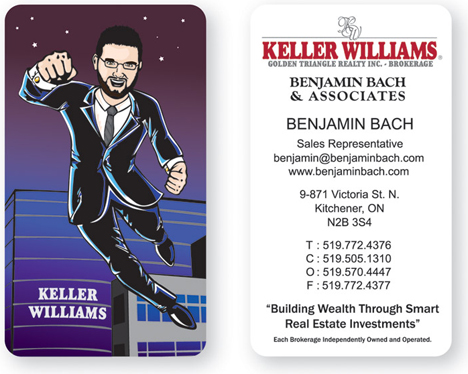 Real Estate Business Cards - Louisiana Sign Guy | Signs, Cards, Billboards, and Brochures