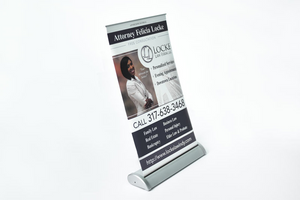 Real Estate Table Top Retractable Banners - Louisiana Sign Guy | Signs, Cards, Billboards, and Brochures