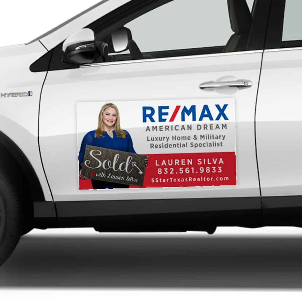 Real Estate Magnetics Signs - Louisiana Sign Guy | Signs, Cards, Billboards, and Brochures