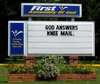 church lexan sign panels - Louisiana Sign Guy | Signs, Cards, Billboards, and Brochures
