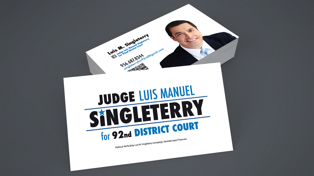 Political/Campaign Business Cards - Louisiana Sign Guy | Signs, Cards, Billboards, and Brochures