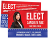 Political/Campaign Postcards - Louisiana Sign Guy | Signs, Cards, Billboards, and Brochures