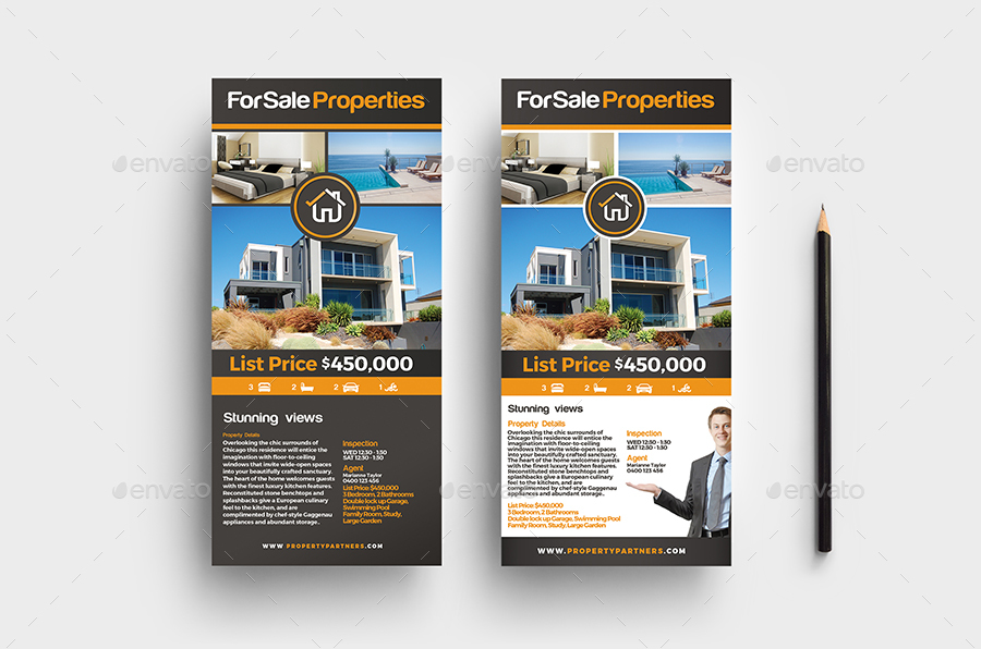 Real Estate Rack/Push Cards - Louisiana Sign Guy | Signs, Cards, Billboards, and Brochures