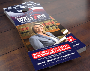 Political/Campaign Door Hangers - Louisiana Sign Guy | Signs, Cards, Billboards, and Brochures