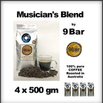 9 Bar Coffee - Musician's Blend x 4 Packets