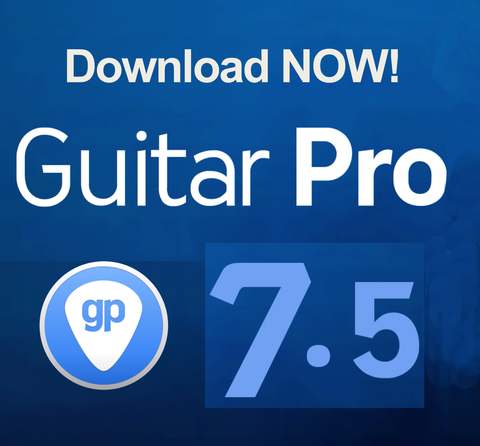 Guitar Pro 7.5 for MAC OS and WINDOWS