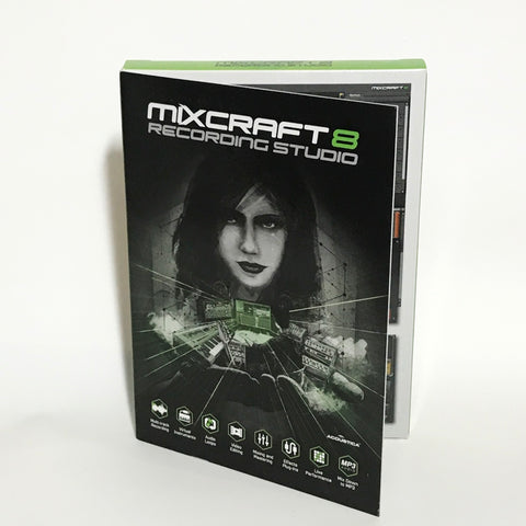 Mixcraft 8 Recording Studio (Boxed - Last Years version)