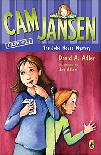 Cam Jansen: Case #34 The Joke House Mystery