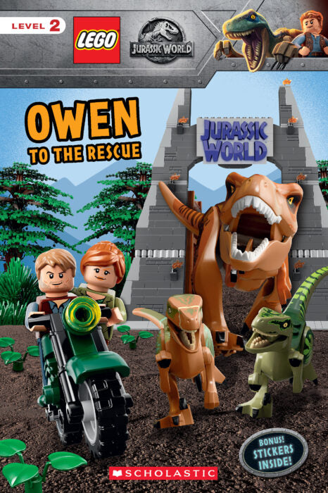 LEGO Jurassic World: Owen to the Rescue