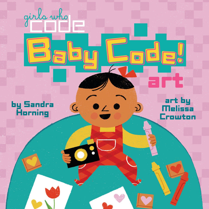 Girls Who Code: Baby Code! Art