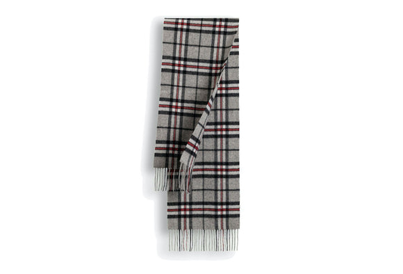 100% WOOL SCARF CHECK