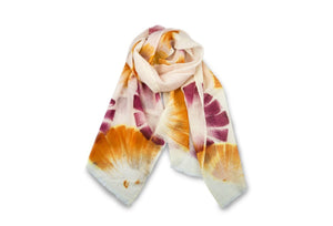 100% MERINO WOOL HAND PAINTED SCARF