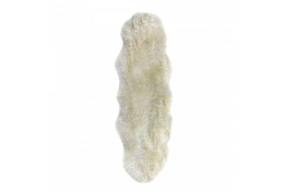 LONG WOOL SHEEPSKIN RUGS - DOUBLE
