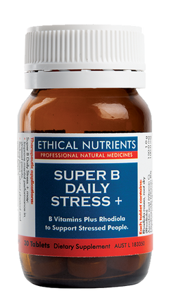 Ethical Nutrients - Super B Daily Stress + 30s