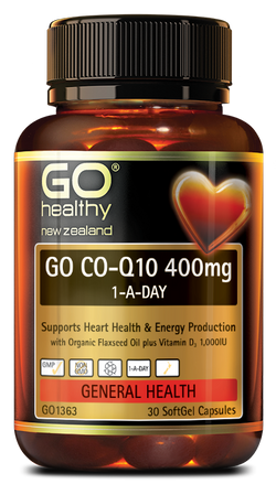 go healthy Co-Q10 400mg - 30's