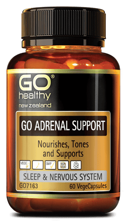Go Healthy Adrenal Support - 60 caps