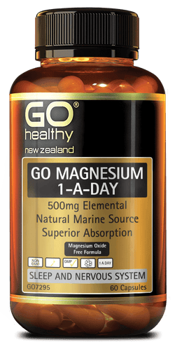 Go Healthy Magnesium 1-a-day - 60 caps