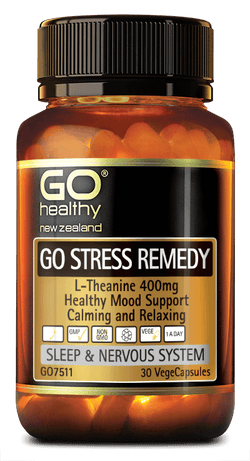 Go Healthy Stress Remedy - 30 caps