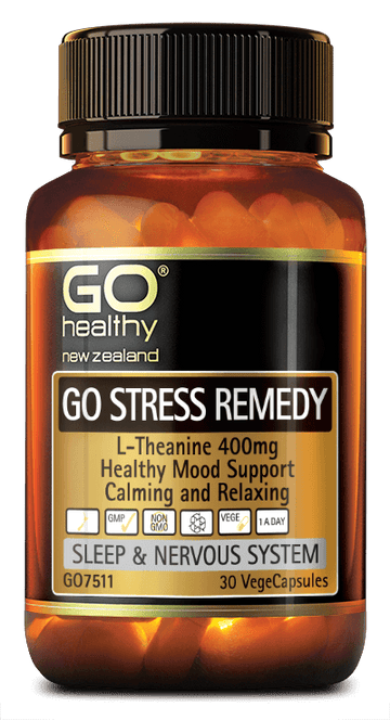 go healthy stress remedy 30's