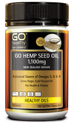 go healthy hemp seed oil 100s