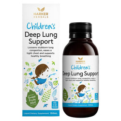 Childrens Deep Lung support Harker