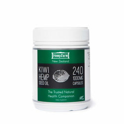 Hemp seed oil  capsules 1000mg - 240 caps