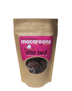 Little Bird Macaroons - Cacao Raspberry