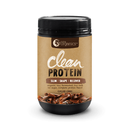 Nutra Organics clean protein chocolate