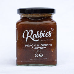 Robbies Peach Ginger Chutney