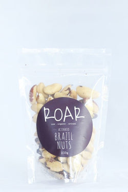 Activated Brazil Nuts 250g ROAR