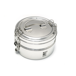 Meals in steel - tiffin lunchbox