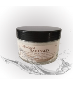 Viola Oil Infused Bath Salts 250g