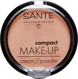 Sante - Matte Compact Make up Cream/Powder - beige 02