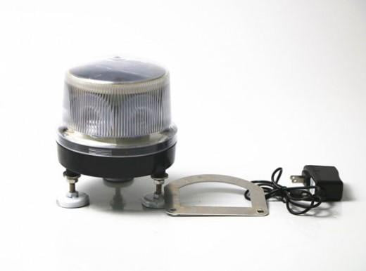 Commercial Solar LED Siren Lighting and Solar Windsocks