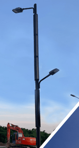 Integrated Pole Solar Street Light