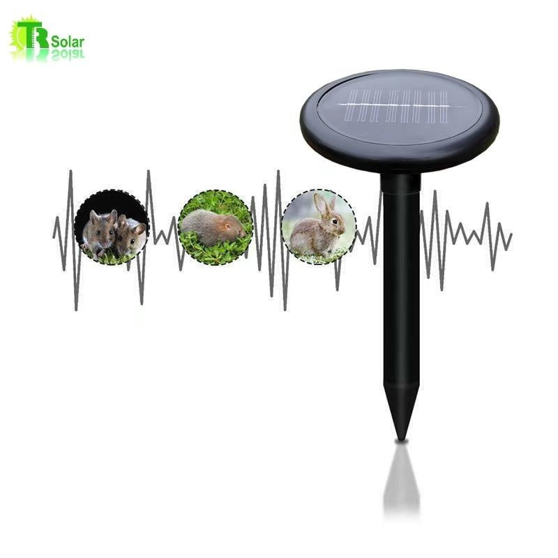Smart Solar Powered Pest Repeller